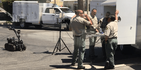 SAN JACINTO: Bomb scare forces evacuation of county offices, other businesses